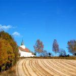 Kościółek w Norwegii